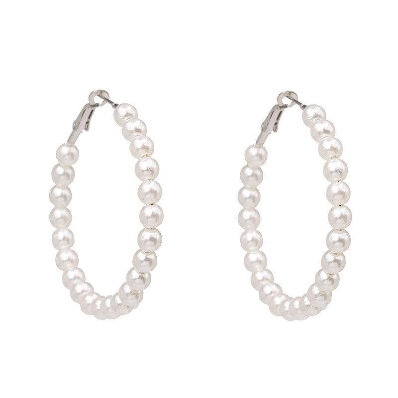 Pearl hoops 2
